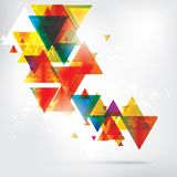 Abstract background with colored elements Stock Photos
