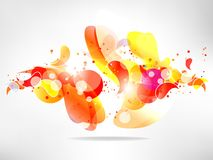 Abstract  background with colored elements Royalty Free Stock Image