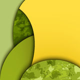 Abstract background with colored layers. EPS10 stock illustration