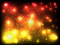 Abstract background. With colored lights Stock Photography