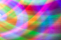 Abstract background of colored lights in a motion Royalty Free Stock Photos