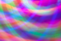 Abstract background of colored lights in a motion Royalty Free Stock Image