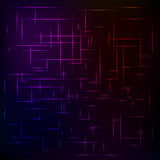Abstract background from colored lines on a black background. The spectrum of colors. The grid of colors royalty free illustration