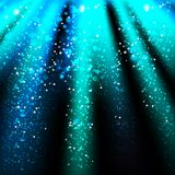 Abstract background with colored lines and light Royalty Free Stock Photo
