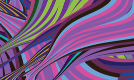 Abstract background and colored lines Royalty Free Stock Photos