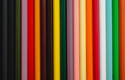Background of colored pencils. Abstract background of colored pencils Royalty Free Stock Images