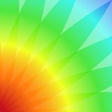 Abstract background with colored petals Stock Image