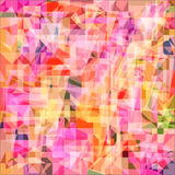 Abstract background with colored polygons. Raster 1 Royalty Free Stock Photography