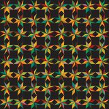 Abstract background from the colored shapes Stock Photography