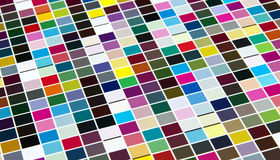 Abstract background of colored square Royalty Free Stock Photography