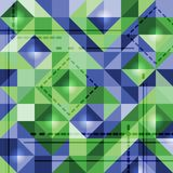 Abstract background of colored squares. Color illustration vector illustration