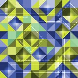 Abstract background of colored squares. Vector illustration Vector Illustration