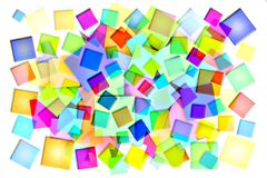 Abstract background with colored squares. Abstract background to create banners, covers, posters, cards, etc Royalty Free Illustration