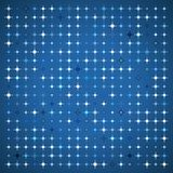 Abstract Background of Colored Stars. Of Different Sizes on Blue Background. Vector Illustration EPS10 stock illustration