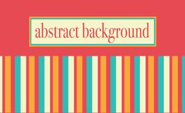 Abstract background colored stripes on white background stock illustration