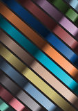 Abstract background with colored strips Royalty Free Stock Image