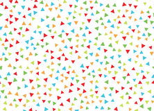 Abstract background with colored triangles. Vector illustration Royalty Free Stock Image