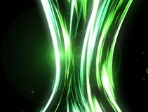 Abstract background with colored wave lines Stock Photos