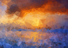 Abstract background. Colorful abstract background royalty free illustration