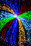 Abstract background colorful blur bokeh circles for Christmas ba Royalty Free Stock Photo