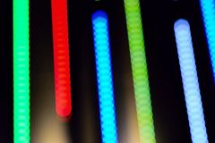 Abstract background of colorful blur light trails Royalty Free Stock Photos