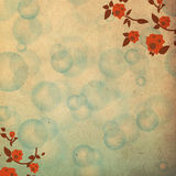 Abstract background colorful bokeh circles. Abstract Colorful Background Texture, vintage flowers stock illustration