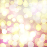 Abstract background with colorful bokeh circles. Abstract background with colorful defocused bokeh circles. Lights of big city. Celebrating glowing backdrop stock illustration