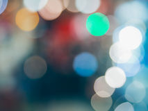 Abstract background with colorful bokeh defocused. Lights and shadow Stock Image