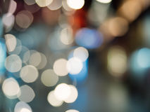 Abstract background with colorful bokeh defocused. Lights and shadow Royalty Free Stock Photography