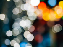 Abstract background with colorful bokeh defocused. Lights and shadow Royalty Free Stock Images