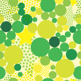 Abstract background with colorful bright circles. Abstract seamless background with colorful bright dots and circles vector illustration