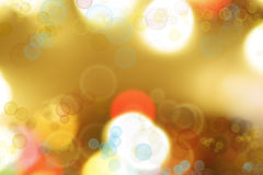 Abstract background. Colorful circles of light abstract background Stock Photography