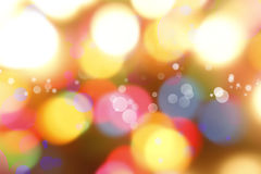 Abstract background. Colorful circles of light abstract background Stock Photo