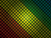 Abstract background - colorful circles pattern with black grunge. A creative Background with yours works royalty free illustration