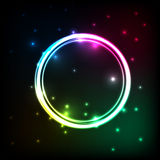 Abstract background with colorful circles plasma Stock Image
