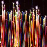 Abstract background colorful. Ly Christmas  lighting Stock Photography