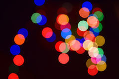 Abstract background colorful. Ly Christmas lighting Stock Photo