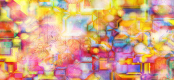 Abstract background. Abstract colorful background, computer generated Royalty Free Stock Images