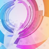 Abstract background, colorful elements. Stock Photo