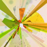 Abstract background, colorful elements. Stock Photos