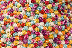 Abstract background of Colorful flowers. Stock Images