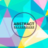 Abstract background colorful funny themes. Cool tone with yellow matching colr Stock Images