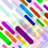 Abstract background with colorful geometric lines. Vector backdrop Stock Photography