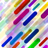 Abstract background with colorful geometric lines. Vector backdrop Royalty Free Stock Photography