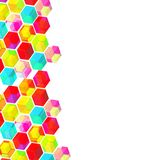 Abstract background with geometric shapes. Abstract background with colorful geometric shapes royalty free illustration