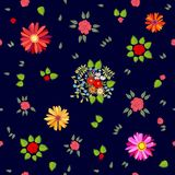 Abstract background with colorful geometric shapes. Seamless  pattern for textile design, cards and web design Stock Photography