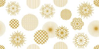Abstract background with colorful geometric shapes. Stock Image