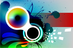 Abstract background. Colorful abstract background, graphic design template, with copy space Stock Images