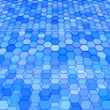 Abstract background with colorful hex polygons. Abstract background with stained glass hex polygons Royalty Free Stock Photos
