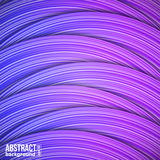 Abstract background from colorful horizontal strips. Vector Illustration Royalty Free Stock Image